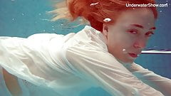 Diana Zelenkina hot Russian underwater
